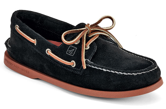 sperry-top-suede-black