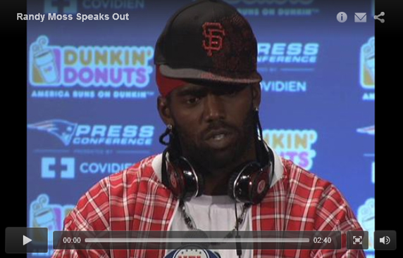 Randy Moss Press Conference