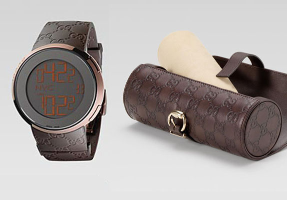 d953ea4ff24 i-Gucci Monogram Watch and Guccissima Leather Case. igucciwatchcase