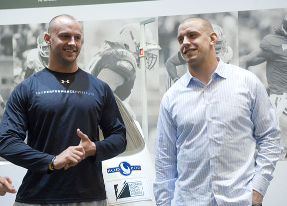 Herzlich and Laurinaitis Talk