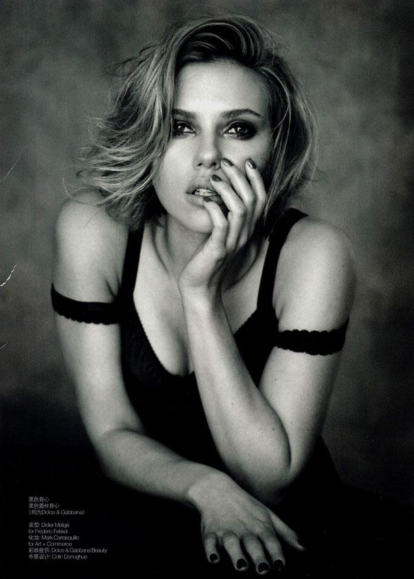 Scarlett Johansson for Vogue China