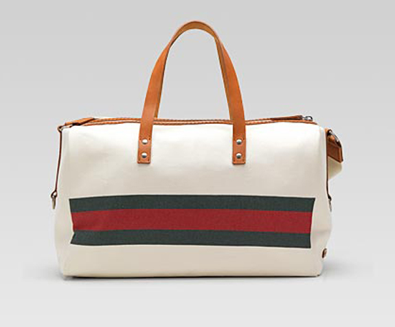 Gucci Carry-On Duffel With Web Detail