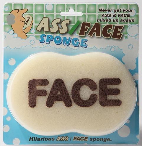 Ass/Face Sponge