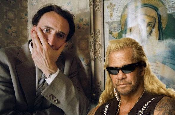 Nic Cage and Dog Bounty Hunter
