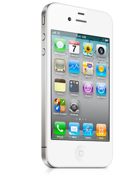 All-White iPhone 4