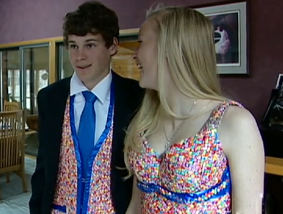 Starbust Prom Dress