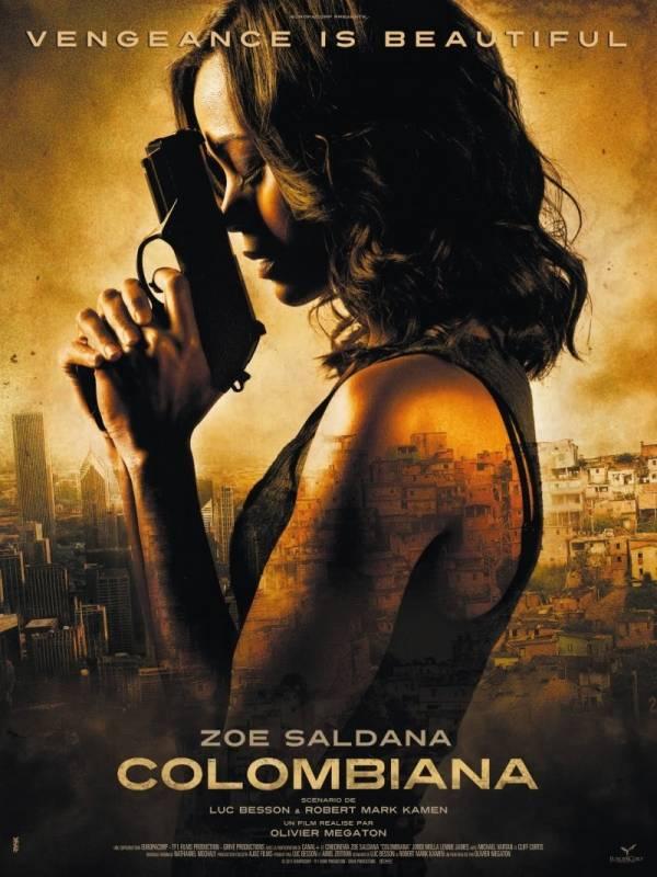 Zoe Saldana Colombiana Movie Poster