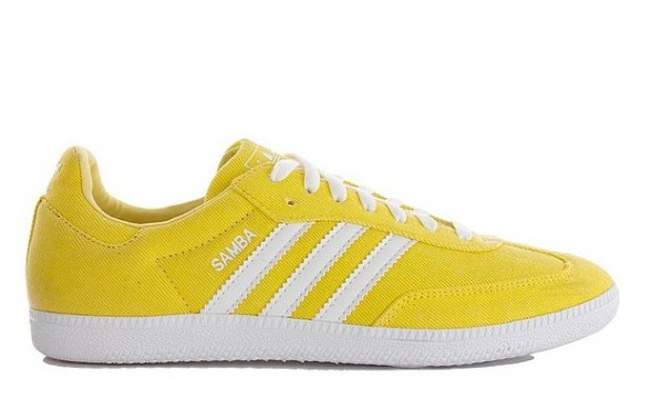 adidas Originals Samba - Lemon Yellow
