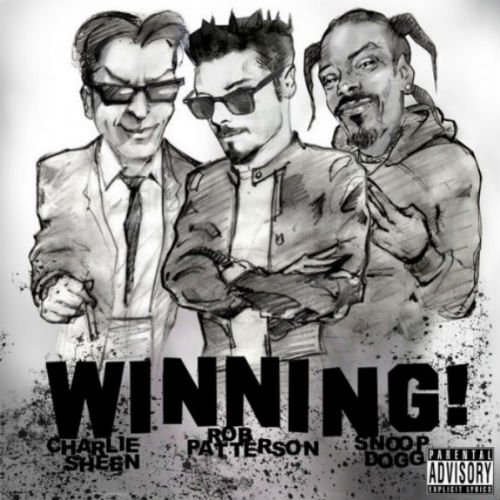 charlie sheen snoop dogg rob patterson winning