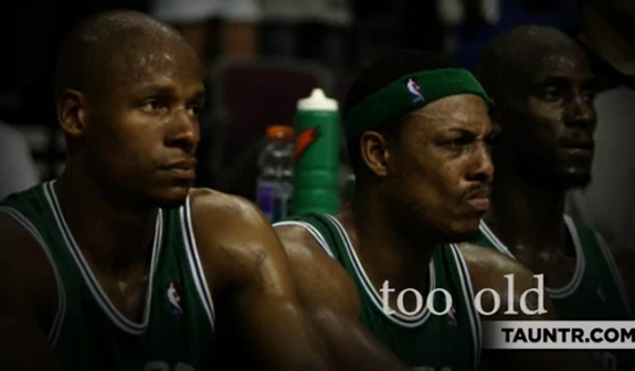 End Ederly Abuse: Miami Heat vs. Boston Celtics Spoof