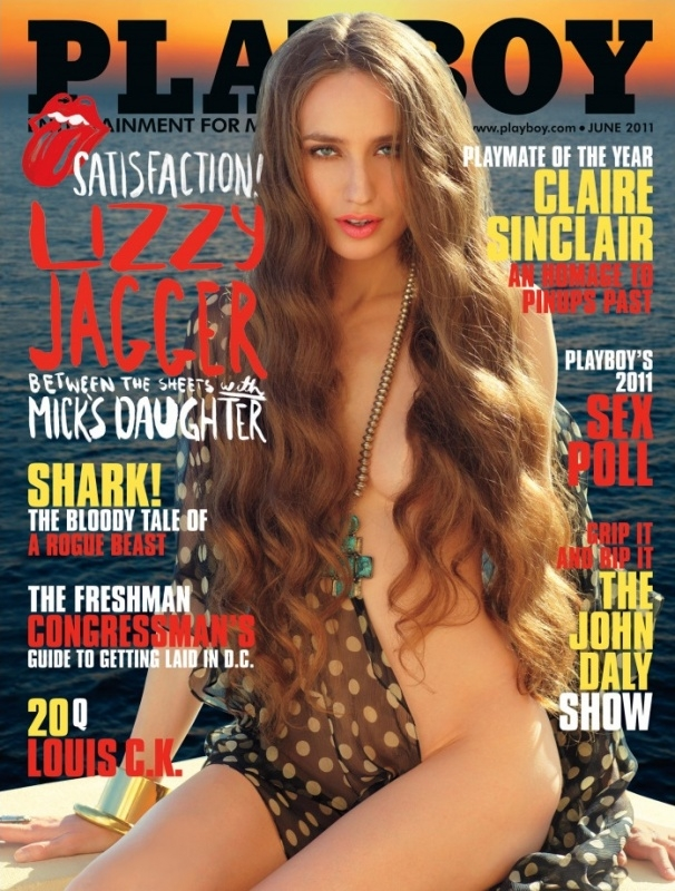 Lizzy Jagger Playboy Cover