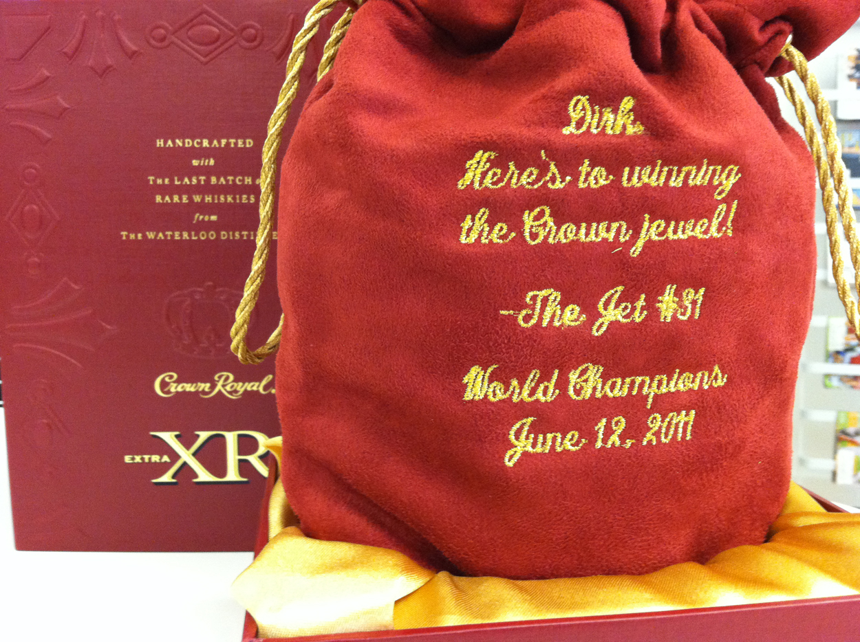 Jason Terry Crown Royal
