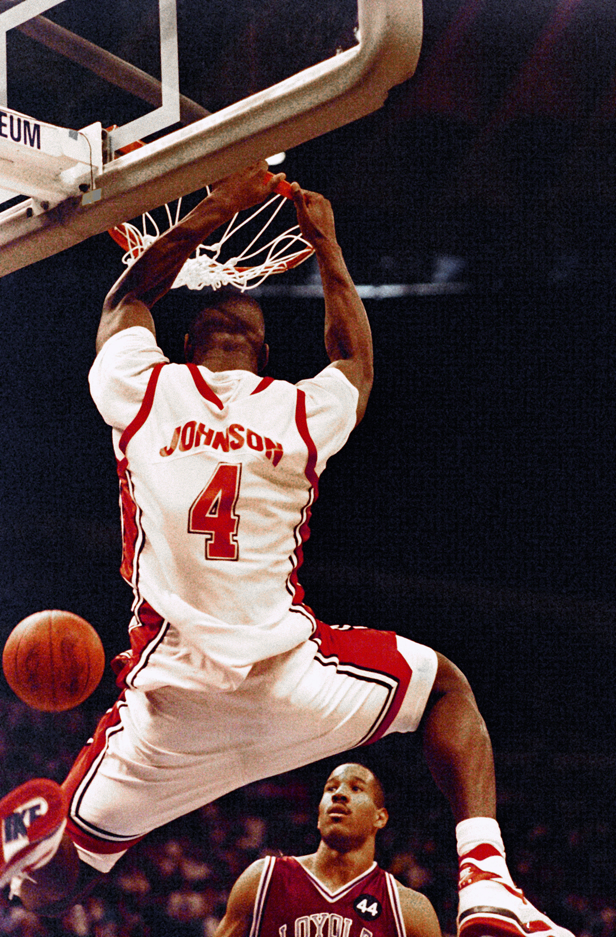 UNLV Forward Larry Johnson 1990