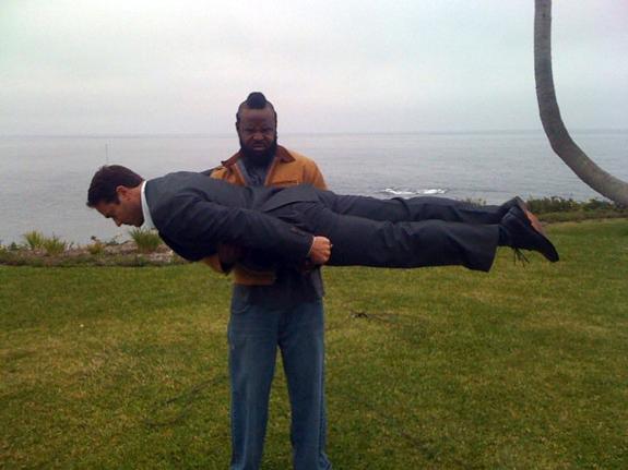 Mr. T Planking