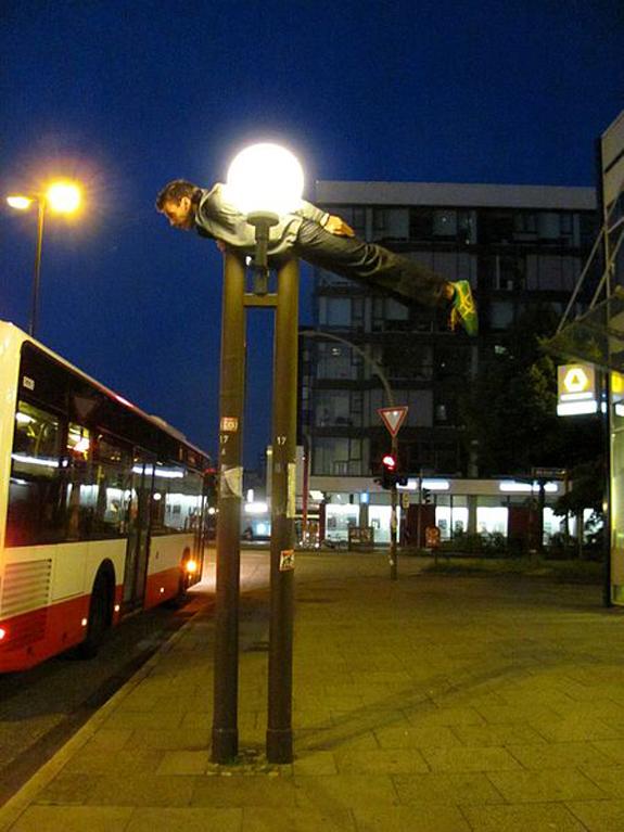Planking Street Light