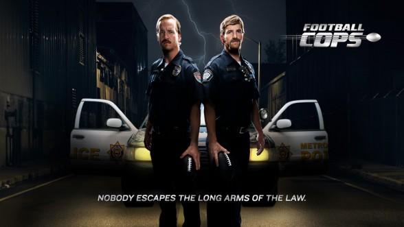 Eli Manning, Peyton Manning, Football Cops