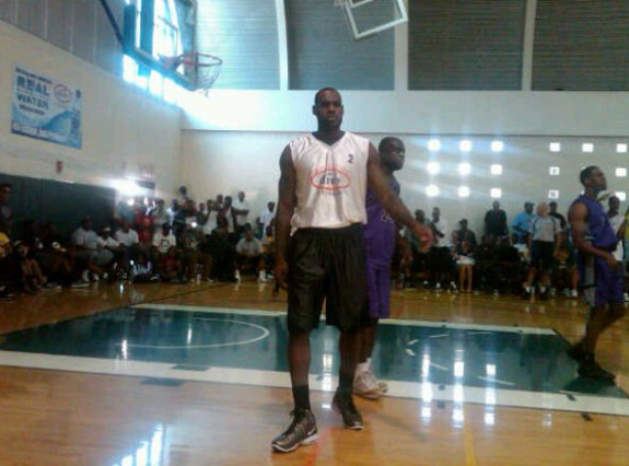 LeBron James - Drew League