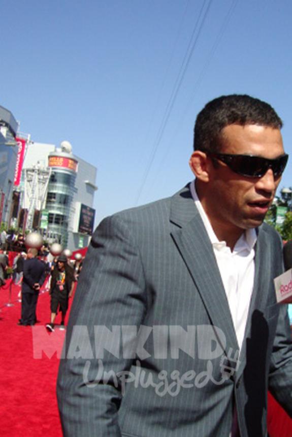 Boxer Fabricio ESPN ESPY Awards