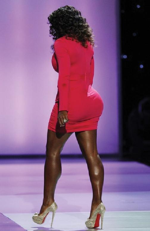 Serena William Butt 107
