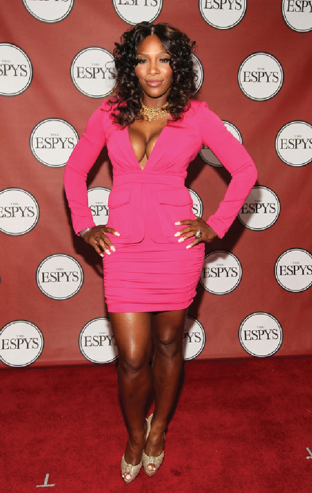 Serena Williams - Ass - Butt - ESPN - ESPY
