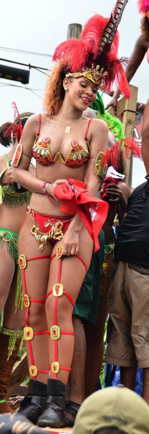 Rihanna Barbados Kadoomant Day