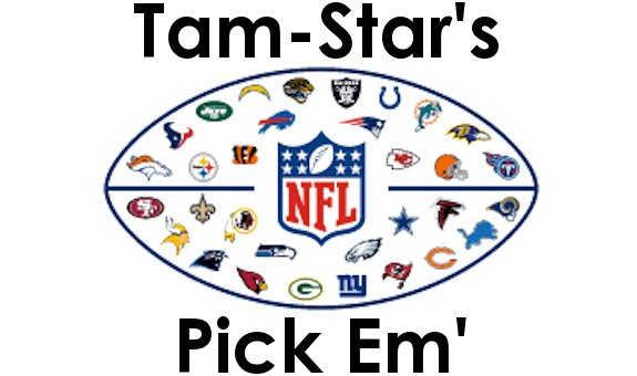 Tam-Star's NFL Pick Em' ­Wild Card Weekend