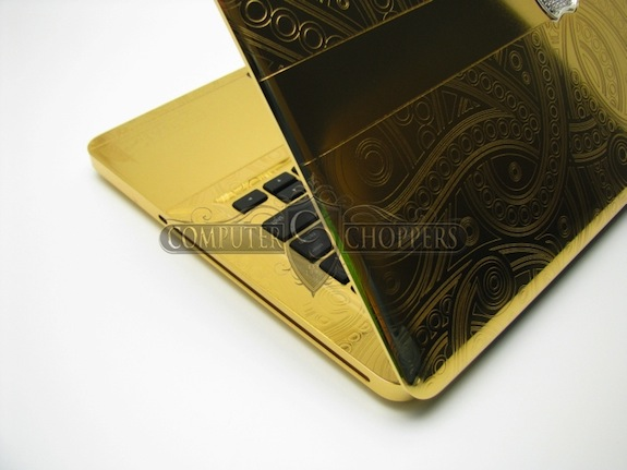 24 Carat Gold Macbook Pro