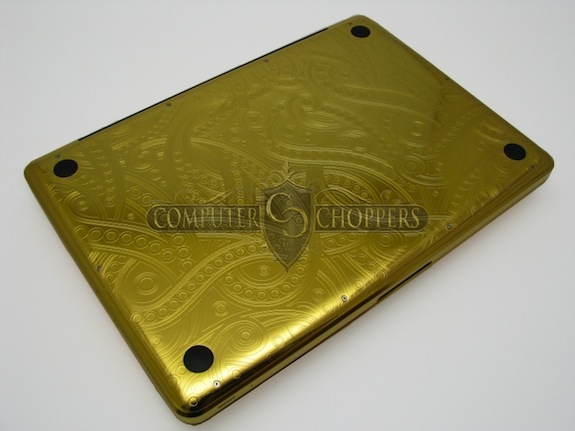 24 Carat Gold Macbook Pro