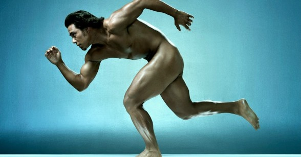 Apolo Anton Ohno espn magazine body issue