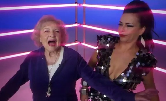 Betty White Rapping With Luciana