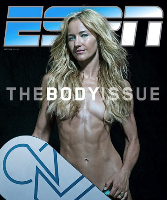 Gretchen Bieiler ESPN Body Issue