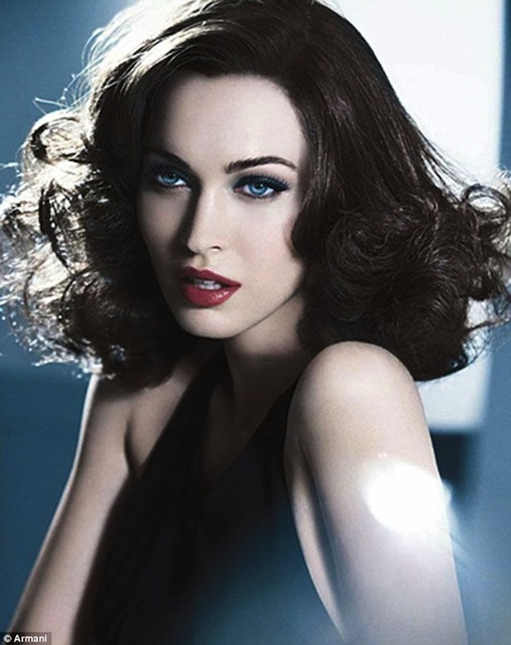 Megan Fox Armani Cosmetics
