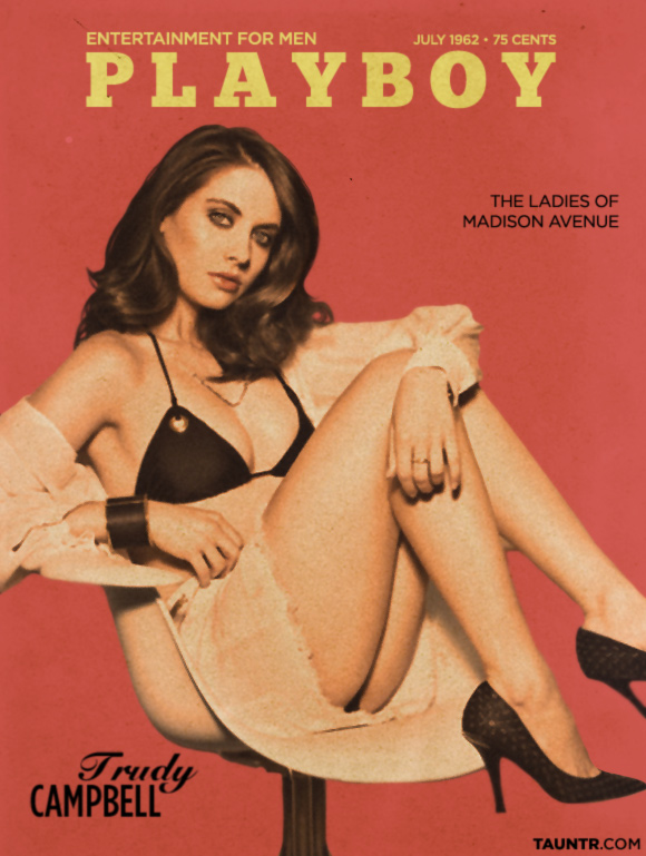 Trudy Campbell Made Man Vintage Playboy Cover