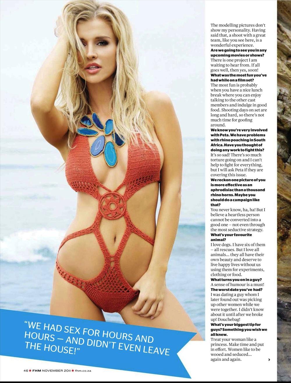 Joanna Krupa FHM Africa