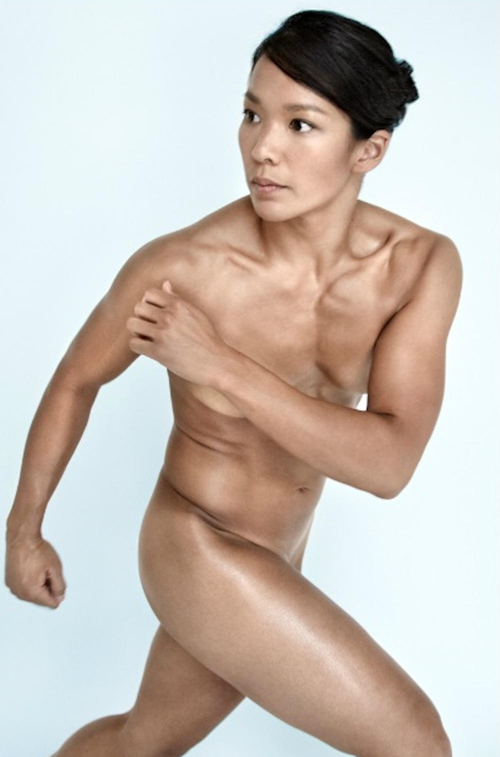 Julie Chu ESPN Magazine Body Issue