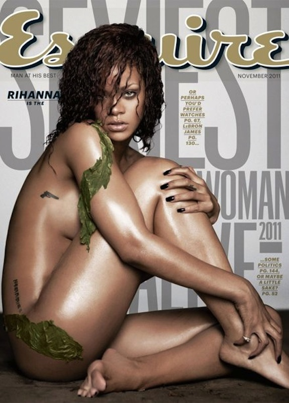 Rihanna Nude Photo Esquire Magazine