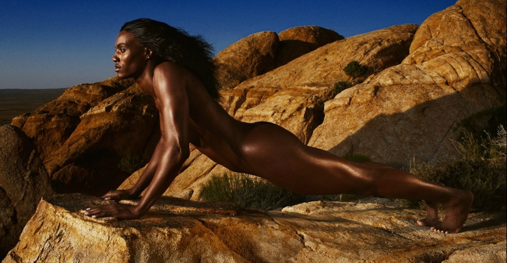 Slyvia Fowles ESPN Magazine Body Issue