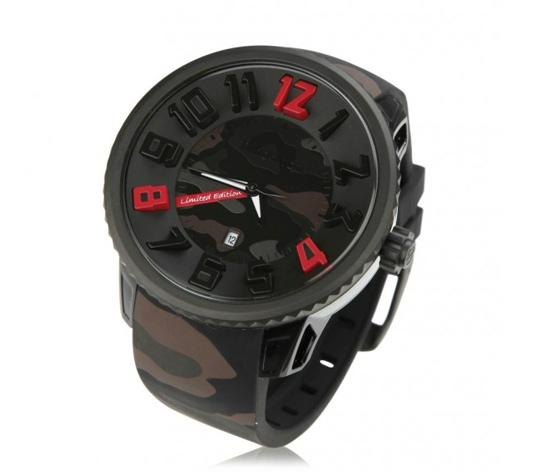 Tendence Gulliver Camouflage Limited Edition Watch