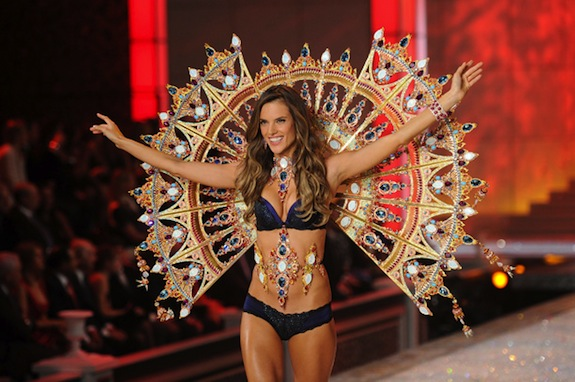 Alessandra Ambrosio Victoria's Secret Fashion Show 2011