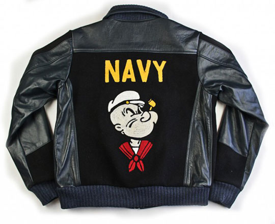 Dr. Romanelli Beetle- Bailey Popeye Bomber Jacket