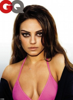 Mila Kunis GQ Magazine Knock Out