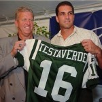 Bill Parcells and Vinny Testaverde