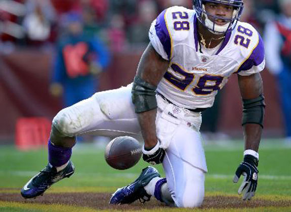 Adrian Peterson Knee Injury