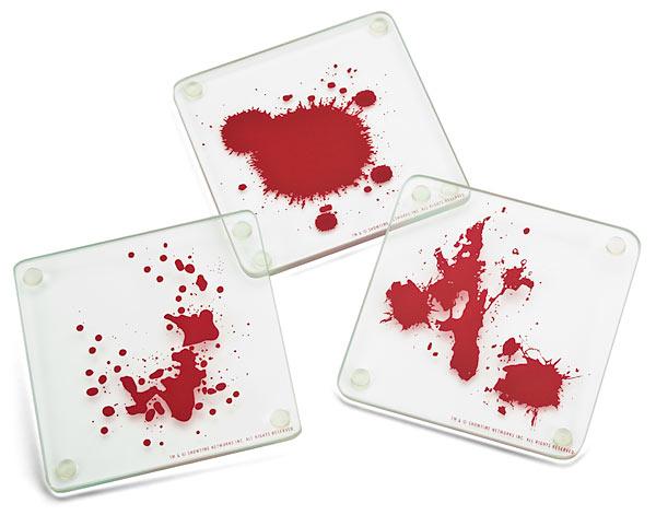 Dexter Blood Spatter Coasters