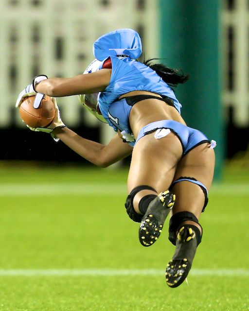 Lingerie Football League LFL MTV ETTA Paul