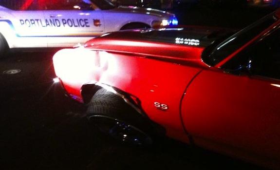 Ndamukong Suh Car Crash Photo