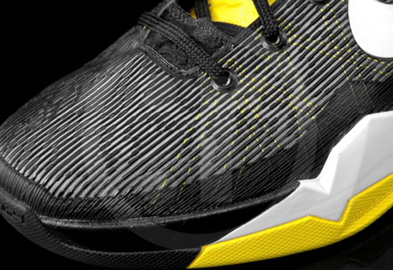 Nike Kobe VII Supreme Black Yellow Kobe 7