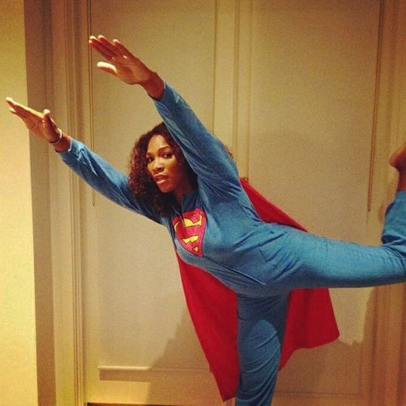 Serena Williams Superman Lingerie