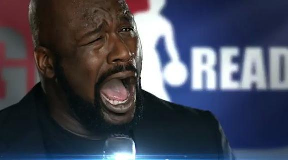 Shaq NBA TNT Commercial