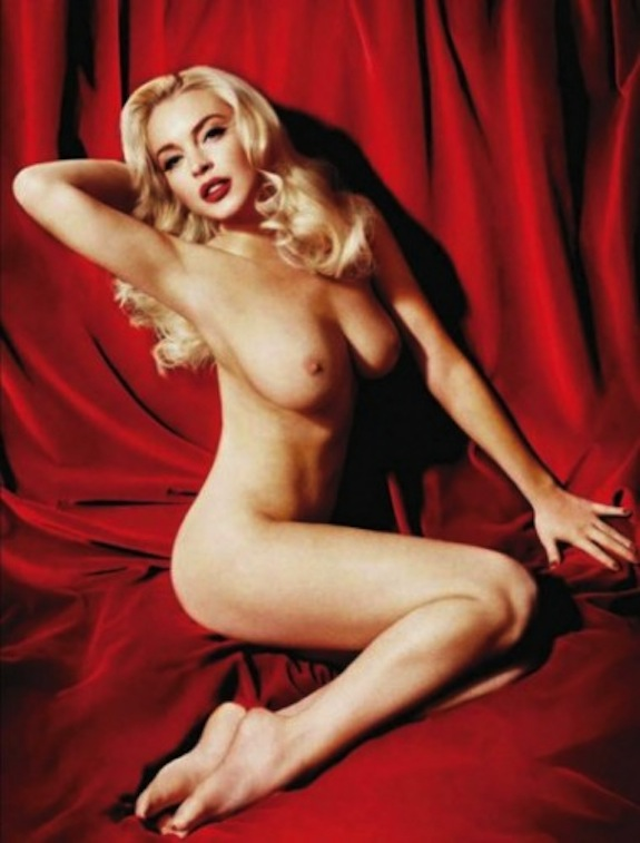 Lindsay Lohan Nude Playboy Photos